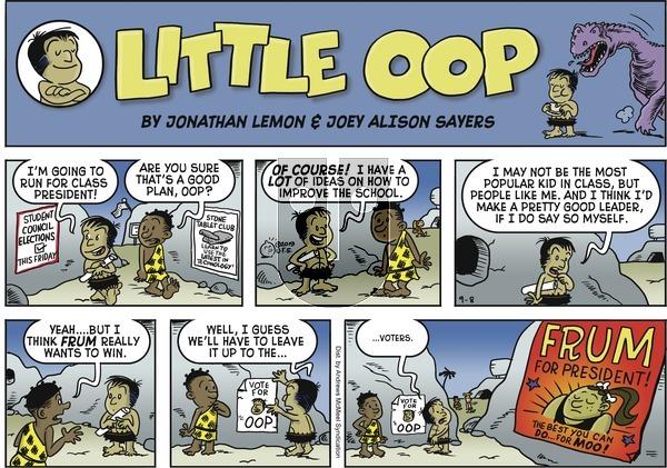 Alley Oop - Sunday September 8, 2019 Comic Strip