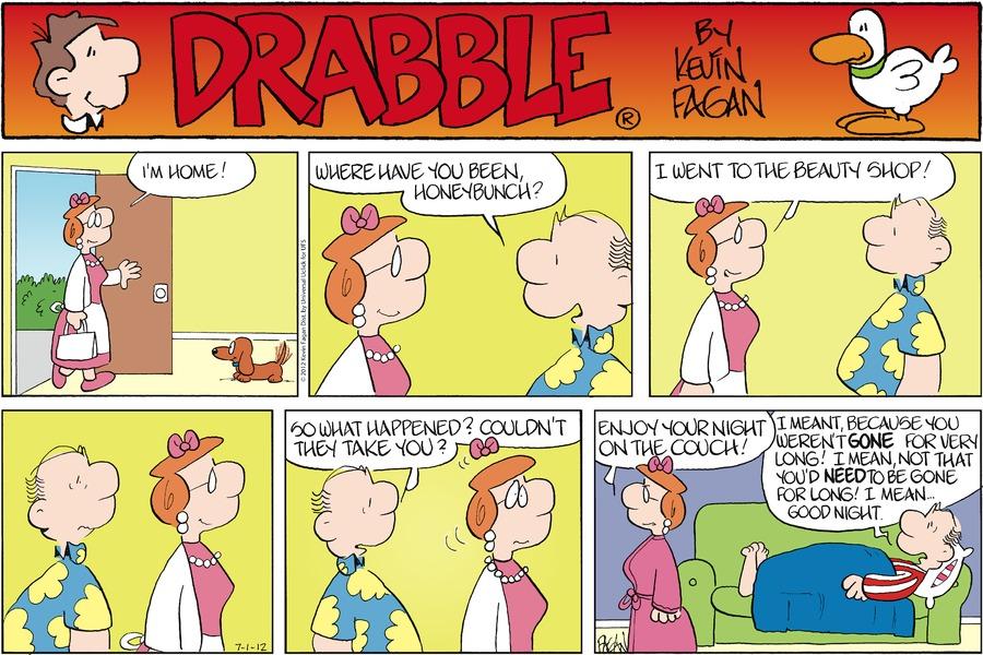 Drabble Comic Strip for July 01, 2012