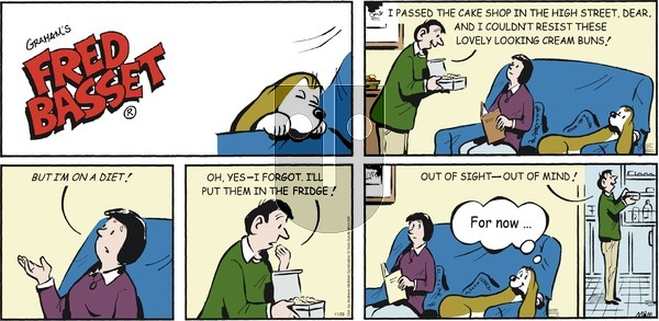 Fred Basset on Sunday November 29, 2020 Comic Strip
