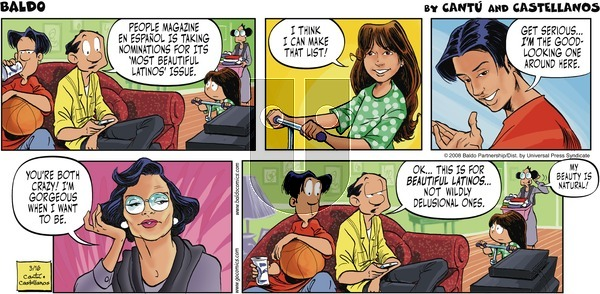 Baldo on Sunday March 16, 2008 Comic Strip