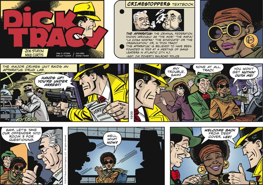 Dick Tracy Comic Strip for October 20, 2013