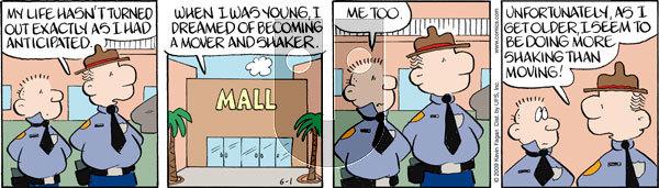 Drabble on Monday June 1, 2009 Comic Strip