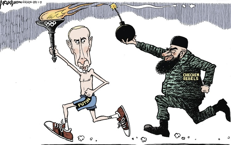 Putin Chechen Rebels
