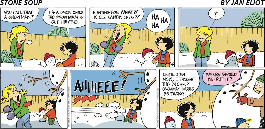 Stone Soup for Feb 19, 2012 Comic Strip