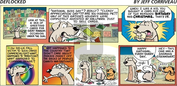 DeFlocked on Sunday October 5, 2014 Comic Strip