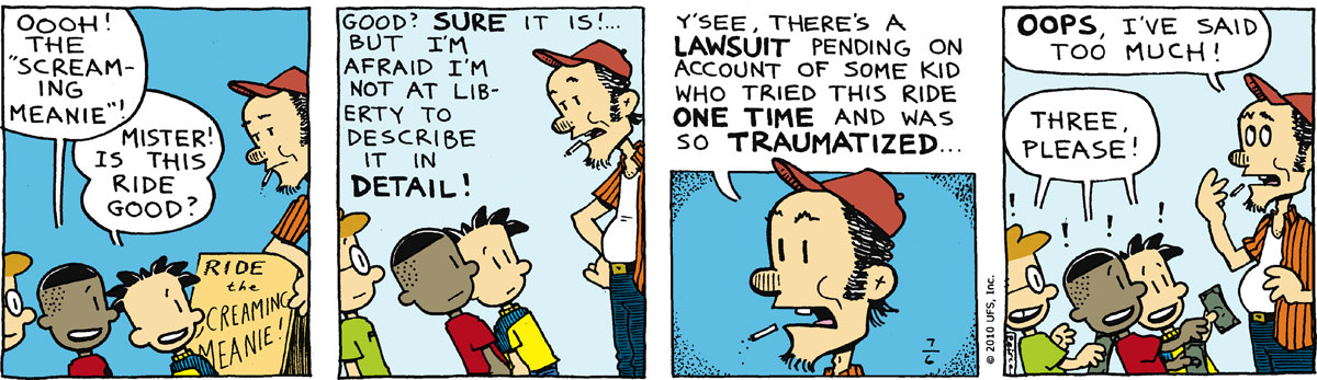 Big Nate Comic Strip for July 06, 2010