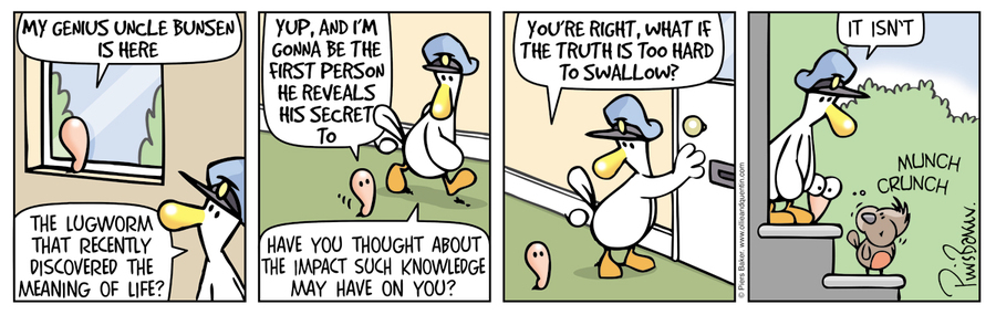 Ollie and Quentin Comic Strip for February 23, 2016