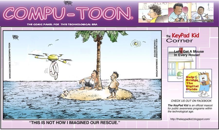 Compu-toon for Feb 23, 2014 Comic Strip