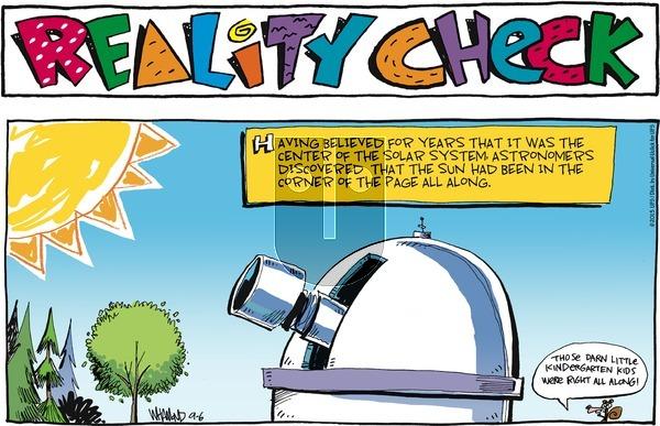 Reality Check on Sunday September 6, 2015 Comic Strip