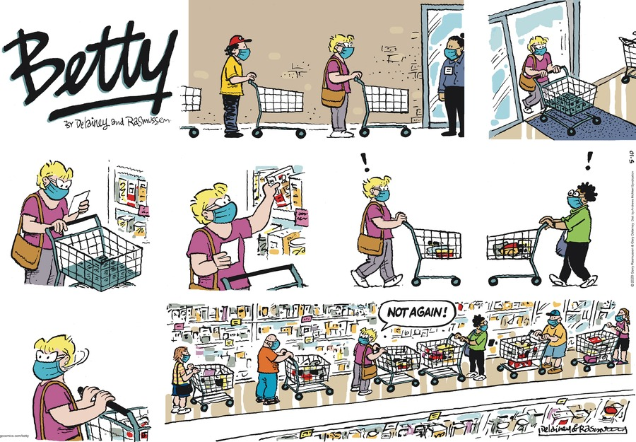 Betty Comic Strip for May 10, 2020