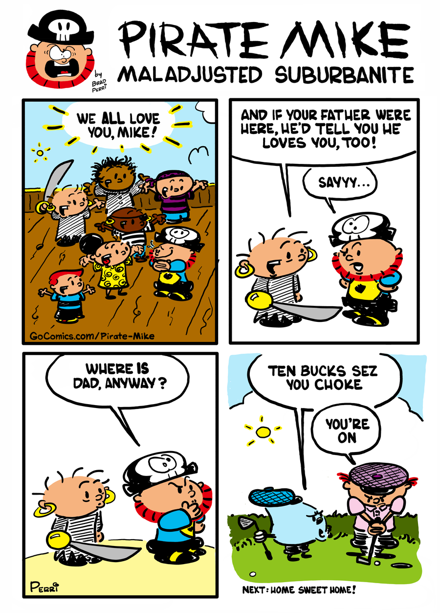 Pirate Mike Comic Strip for January 24, 2020