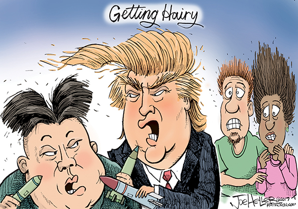 Joe Heller Comic Strip for August 12, 2017