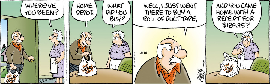 Pickles Comic Strip for August 16, 2021