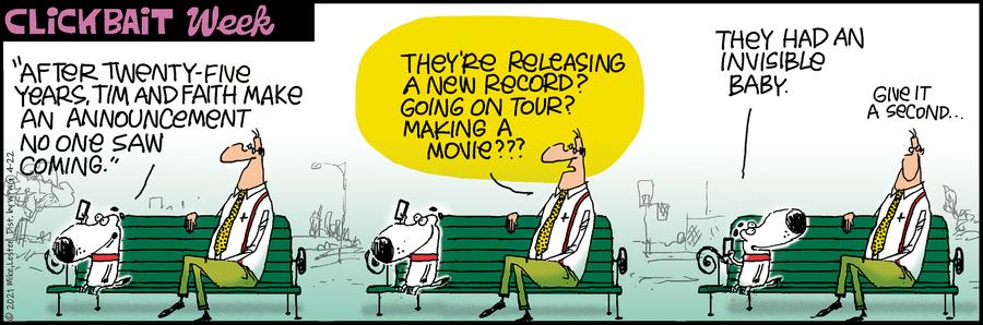 Mike du Jour Comic Strip for April 22, 2021
