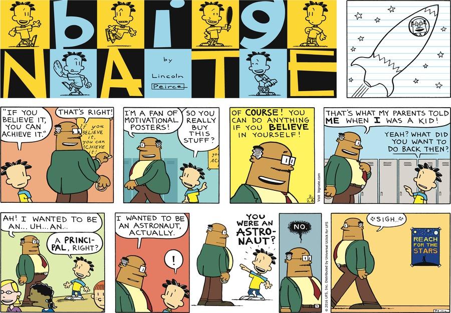 Big Nate Comic Strip for February 28, 2016