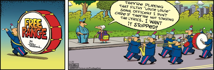 Free Range Comic Strip for November 20, 2016