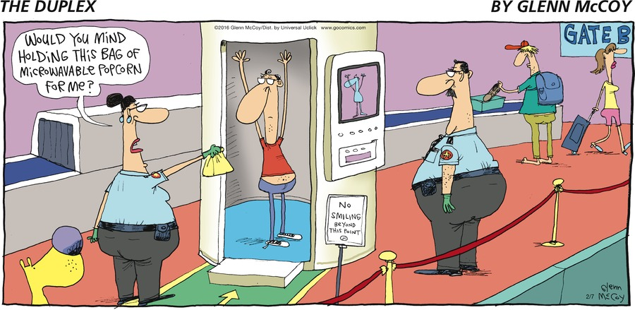 The Duplex Comic Strip for February 07, 2016