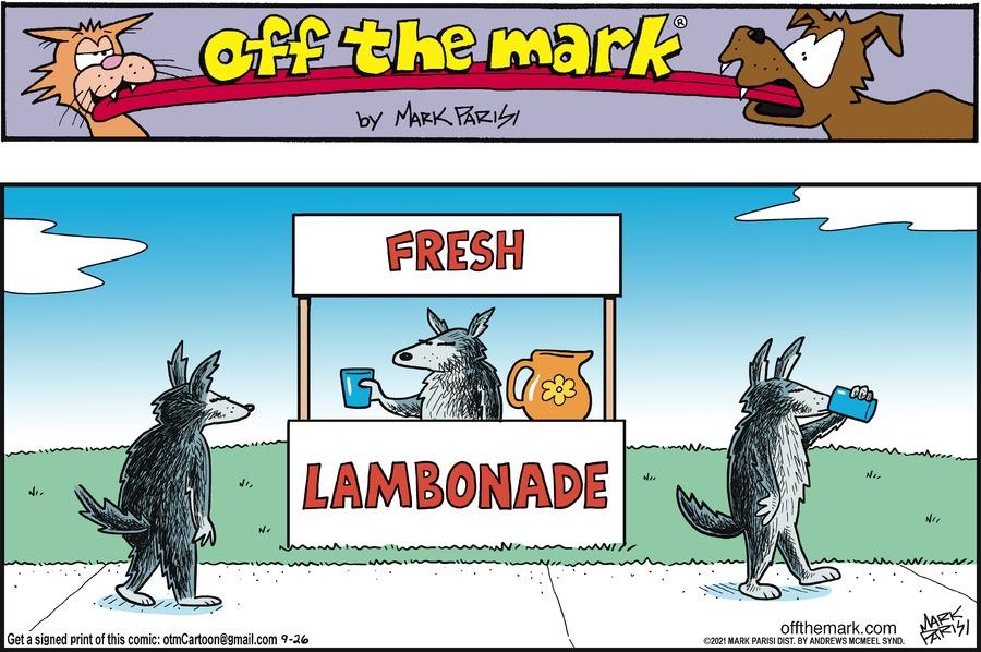 Off the Mark Comic Strip for September 26, 2021