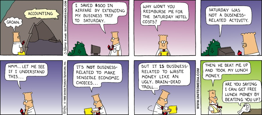 Dilbert Classics Comic Strip for August 30, 2020