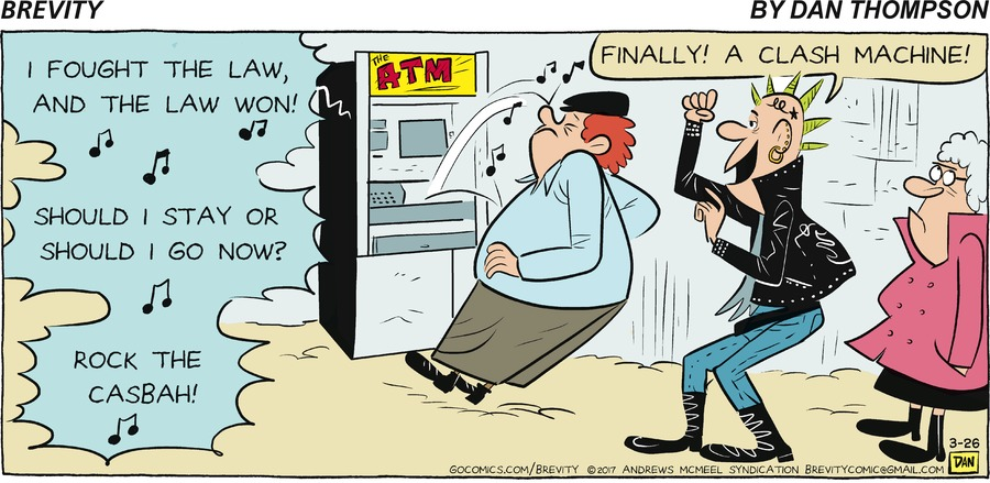 Brevity Comic Strip for March 26, 2017