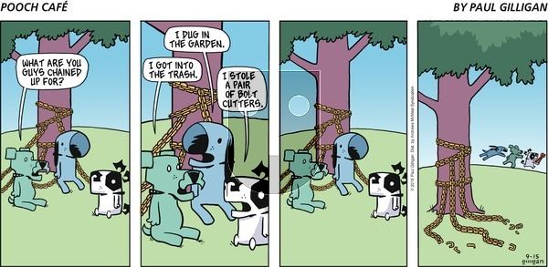 Pooch Cafe on Sunday September 15, 2019 Comic Strip