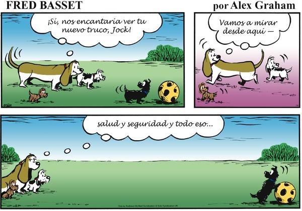 Fred Basset en Español