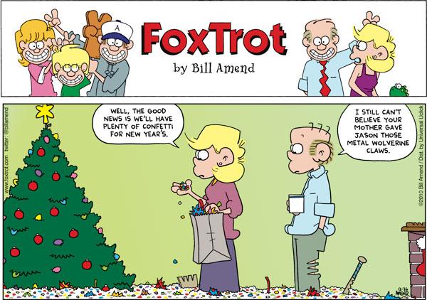 FoxTrot Comic Strip for December 26, 2010