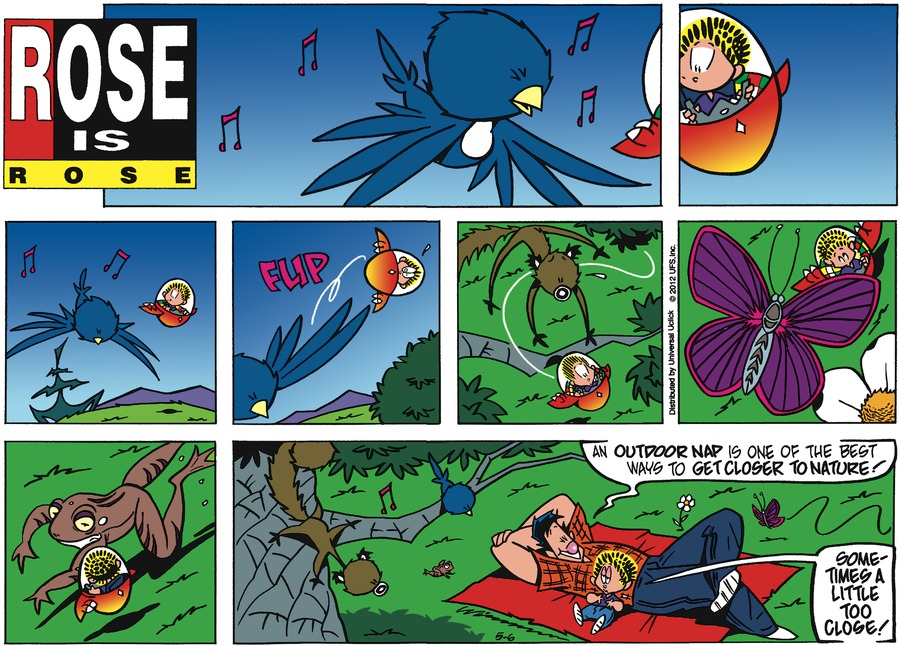 Rose is Rose Comic Strip for May 06, 2012