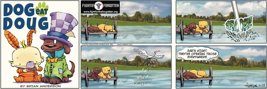 Dog Eat Doug Comic Strip for March 29, 2020