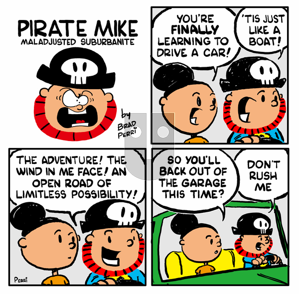 Pirate Mike on Monday March 29, 2021 Comic Strip
