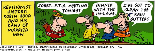 Frank and Ernest Comic Strip for May 09, 2001