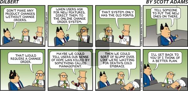 Dilbert on Sunday September 15, 2013 Comic Strip