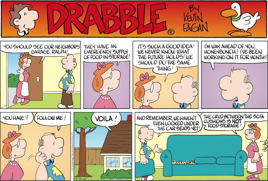 Drabble Comic Strip for March 15, 2015