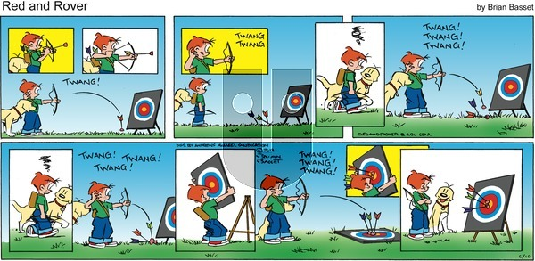 Red and Rover on Sunday June 16, 2019 Comic Strip