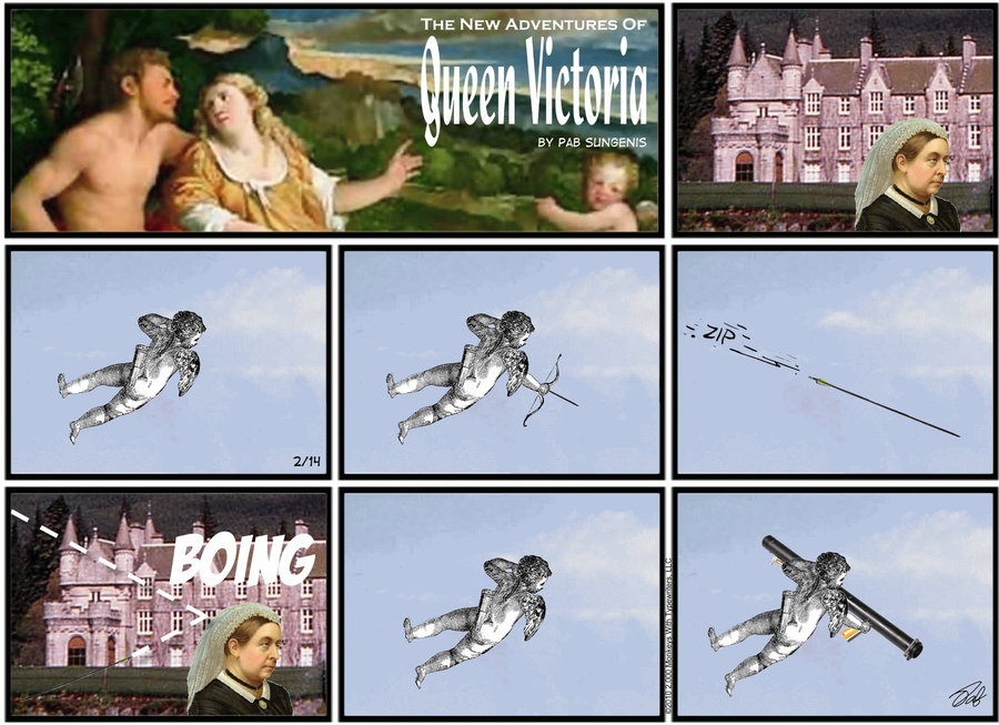 New Adventures of Queen Victoria Comic Strip for February 17, 2019