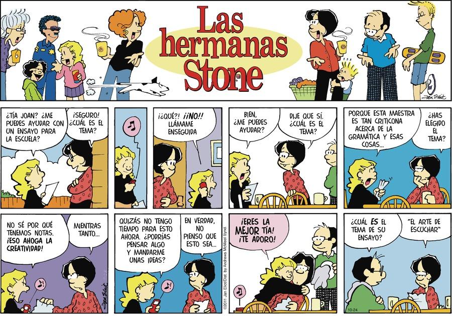 Las Hermanas Stone by Jan Eliot on Sun, 24 Oct 2021