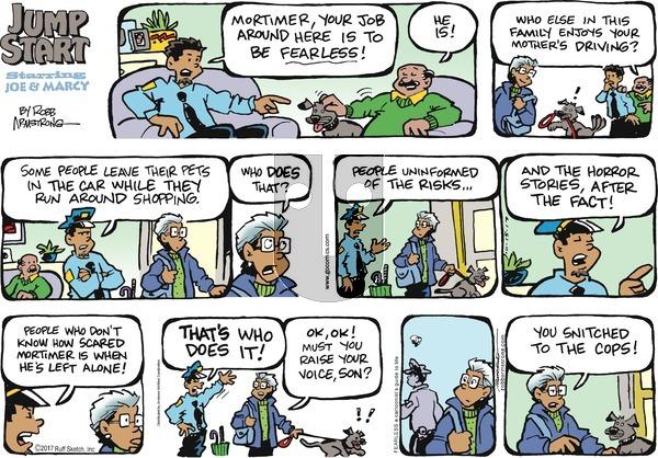 JumpStart on Sunday October 15, 2017 Comic Strip