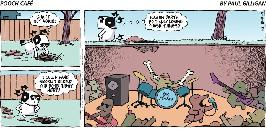 Pooch Cafe Comic Strip for January 31, 2016