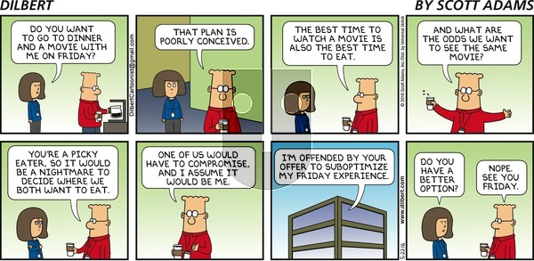 Dilbert - Sunday May 22, 2016 Comic Strip