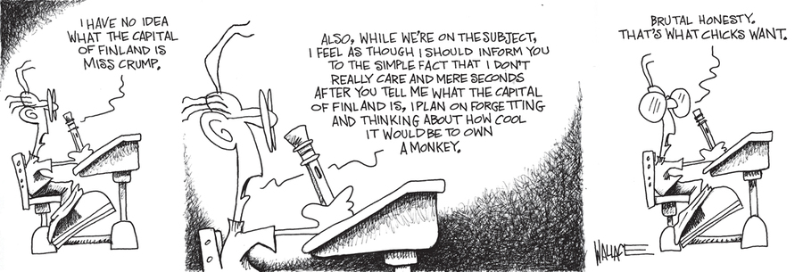 Nothing is Not Something for Jan 23, 2013 Comic Strip