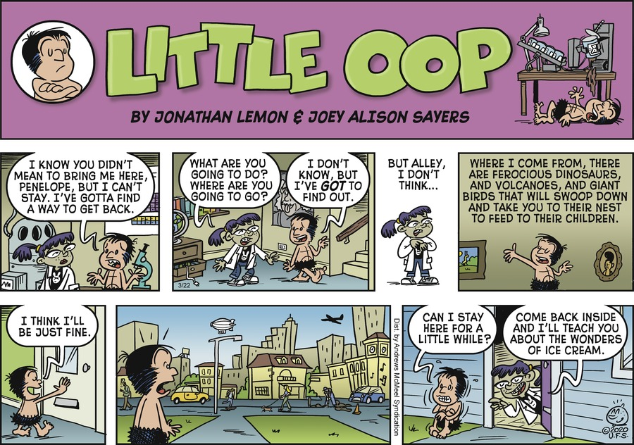 Alley Oop Comic Strip for March 22, 2020