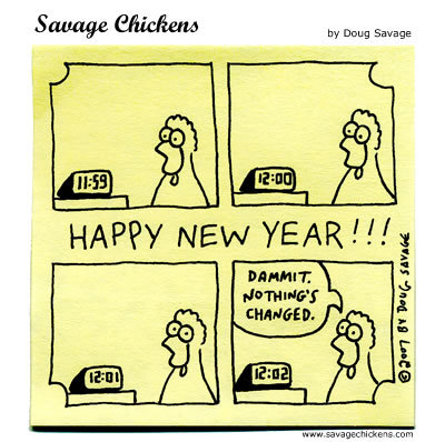 Savage Chickens by Doug Savage for December 31, 2018