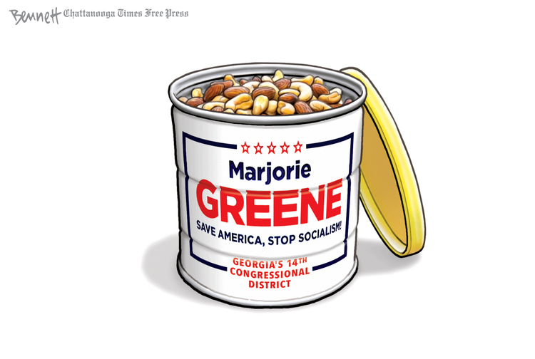 Clay Bennett Comic Strip for August 22, 2020