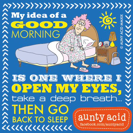 Aunty Acid by Ged Backland for January 22, 2019