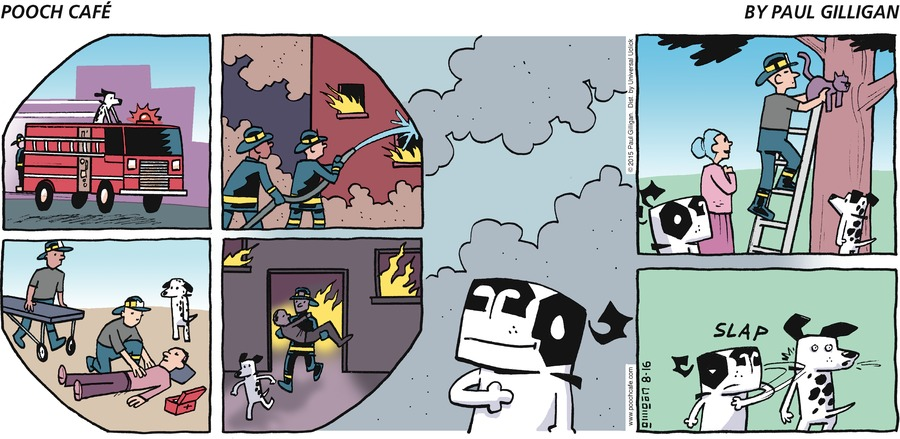 Pooch Cafe Comic Strip for August 16, 2015