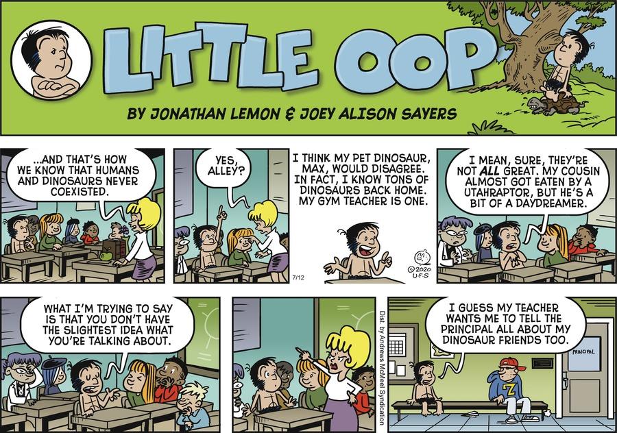 Alley Oop Comic Strip for July 12, 2020