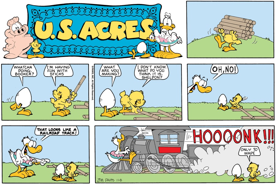 U.S. Acres Comic Strip for February 10, 2019