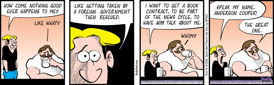 Rudy Park Comic Strip for October 08, 2019