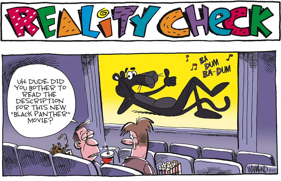 Reality Check Comic Strip for August 25, 2019