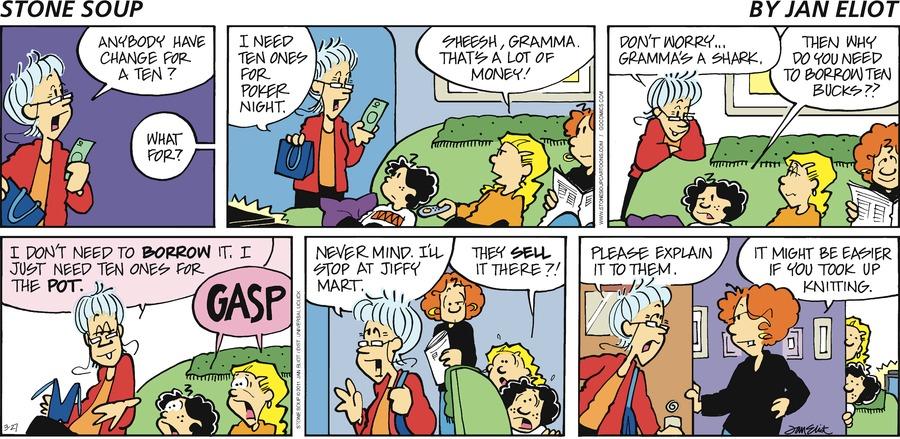 Stone Soup for Mar 27, 2011 Comic Strip